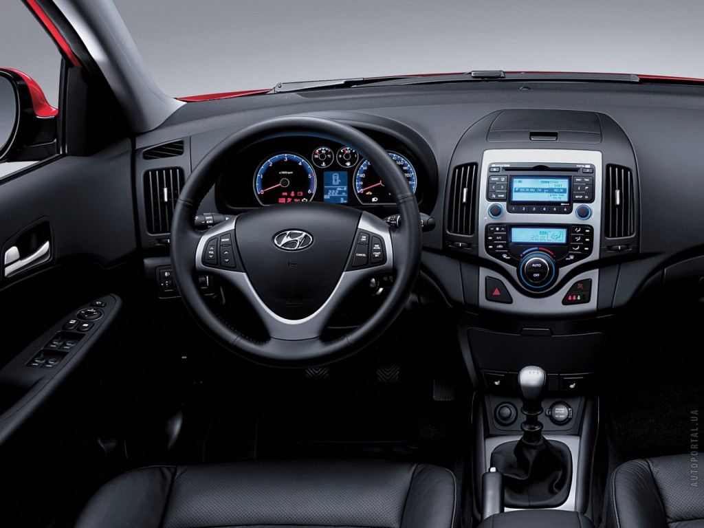 Hyundai Elantra Interior Photos.